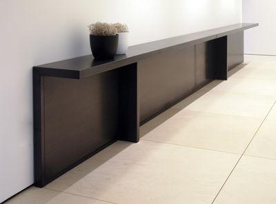 console atrium metal l 283 x p 30 cm zeus