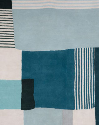 tapis boro large maison sarah lavoine bleu made in design