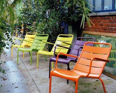 fauteuil bas luxembourg aluminium fermob