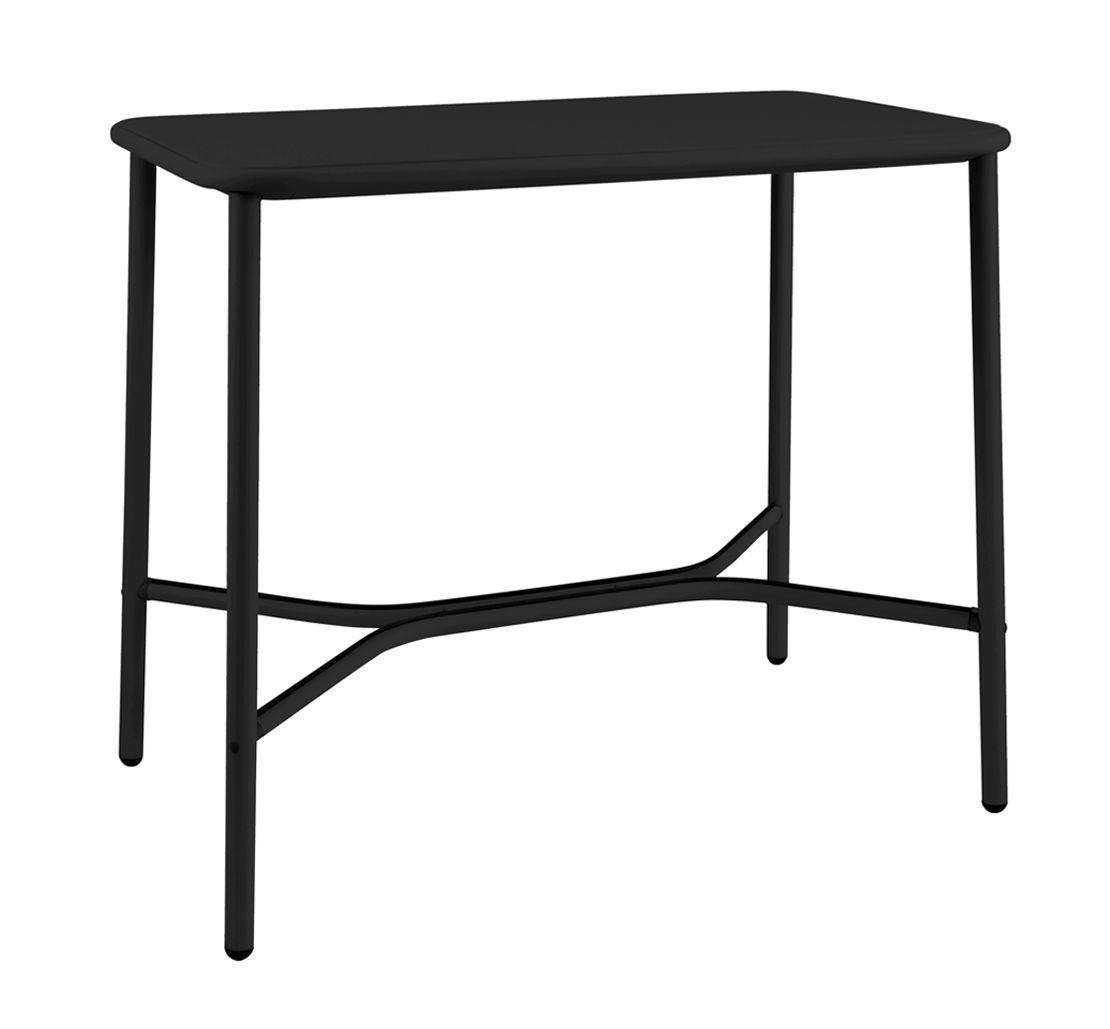 mobilier mange debout et bars table haute yard metal 120 x