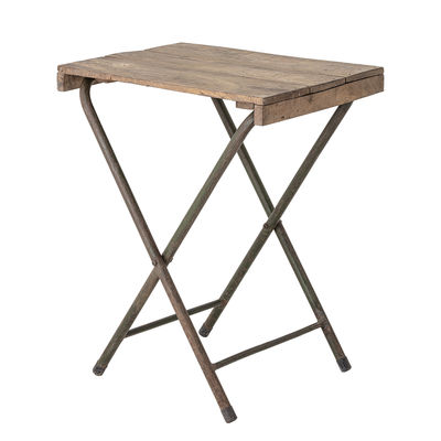 Bloomingville Small Folding Table Natural Wood Made In Design Uk