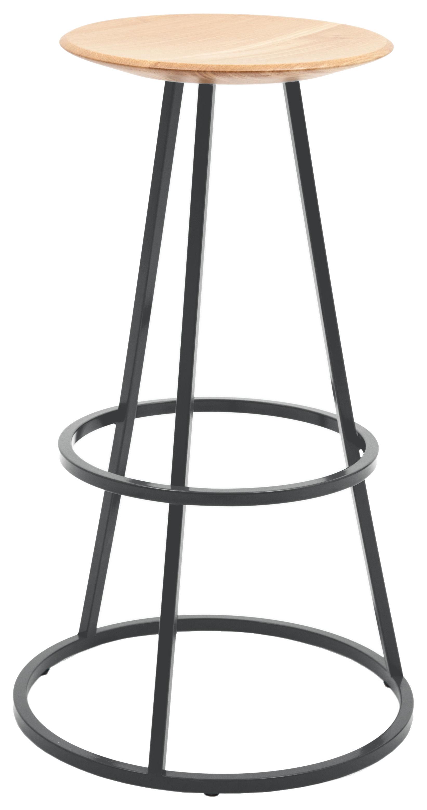 mobilier tabourets de bar tabouret de bar grand gustave h 77 cm