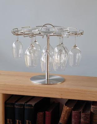 draining rack glass tree up to 18 glasses by l atelier du vin