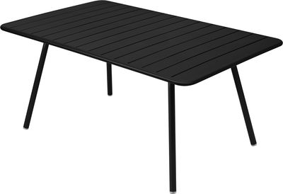 table rectangulaire luxembourg 6 a 8 personnes 165 x 100 cm fermob