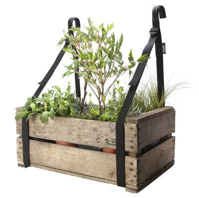 support jardiniere bretelles de balcon set 2 sangles suspension bacsac