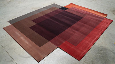 blended teppich 4 farben 250 x 300 cm moooi carpets