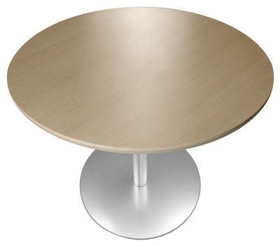 table a hauteur reglable rondo o 90 cm lapalma