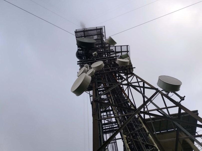 Utgangspunkt for turen: TV-tårnet på toppen av Nordhue.