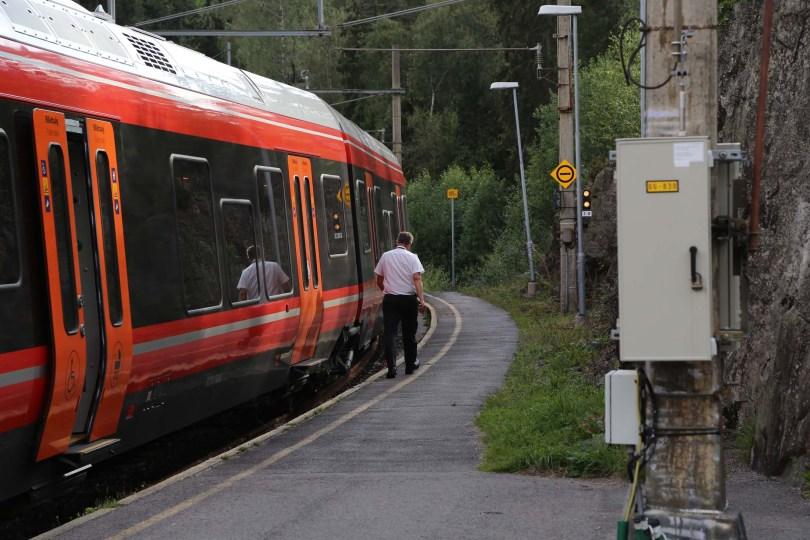 Starten på turen er Movatn stasjon på Gjøvikbanen.