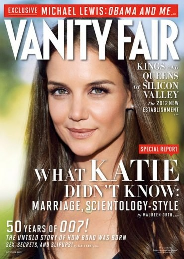 Cover of Vanity Fair, October 2012, Issue #626