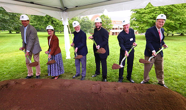 [Tanglewood Learning Institute Ground-Breaking]