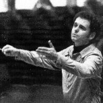 [John Oliver conducting the TFC in 1978 ((Photo credit: Courtesy of BSO Archives)]