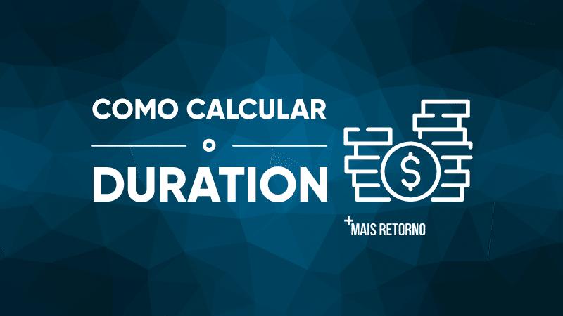 Como calcular o Duration
