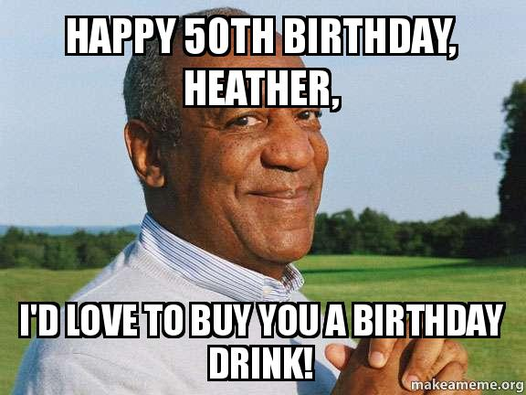 Fiftieth Birthday Memes