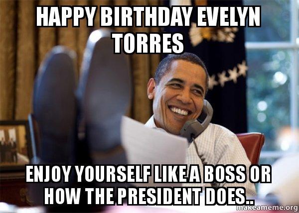 Obama Happy Meme Birthday