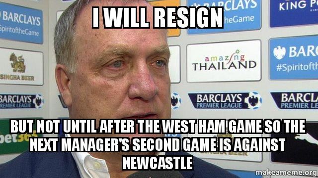 Have you ever wondered what happened to that kid behind the funny meme going around on so. I will resign But not until after the West Ham game so the ...