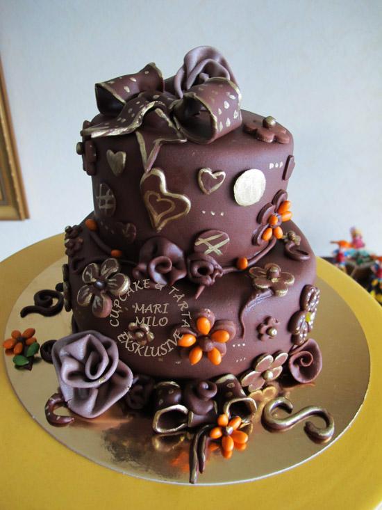 Brollopstarta Mari Milo Cake Design