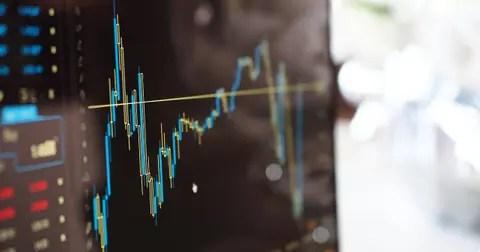 trading chart screen
