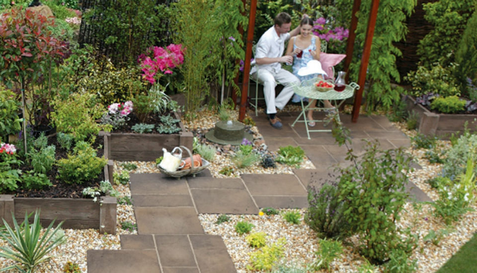 Garden patio ideas on a budget| Marshalls on Garden Design Ideas On A Budget  id=91596