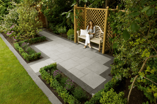 Garden patio ideas on a budget| Marshalls on Garden Design Ideas On A Budget  id=17712