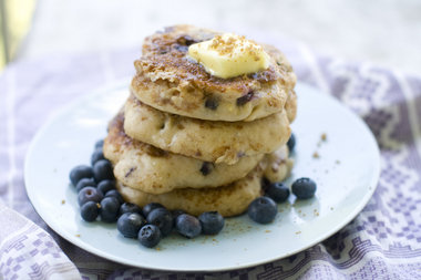 A blueberry muffin that thinks it39s a pancake masslivecom