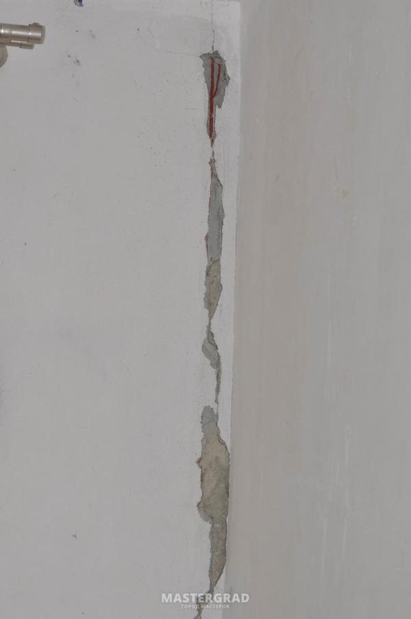 Штукатурка трещин в углах в панельном доме - фото- Форум ...