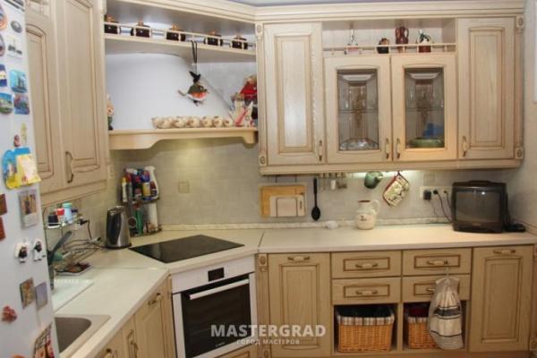Фото Кухня Плита В Углу