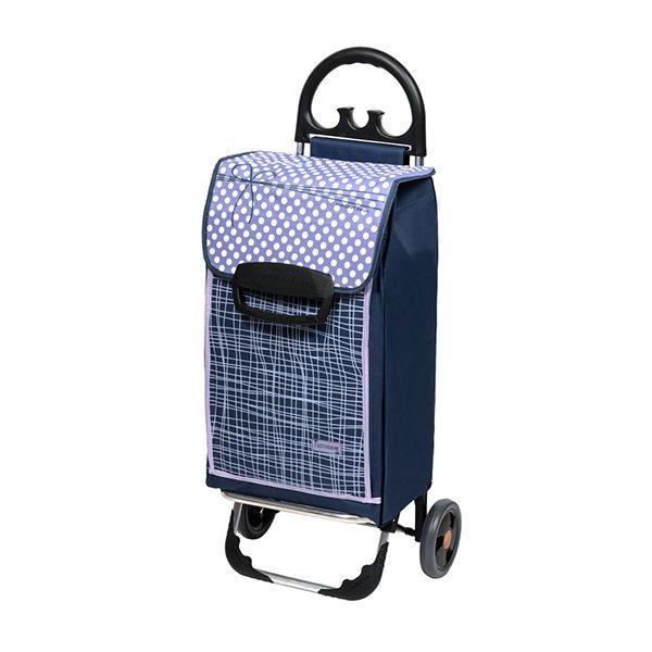 Chariot De Courses Isotherme 2 Roues Bleu Chariots Et