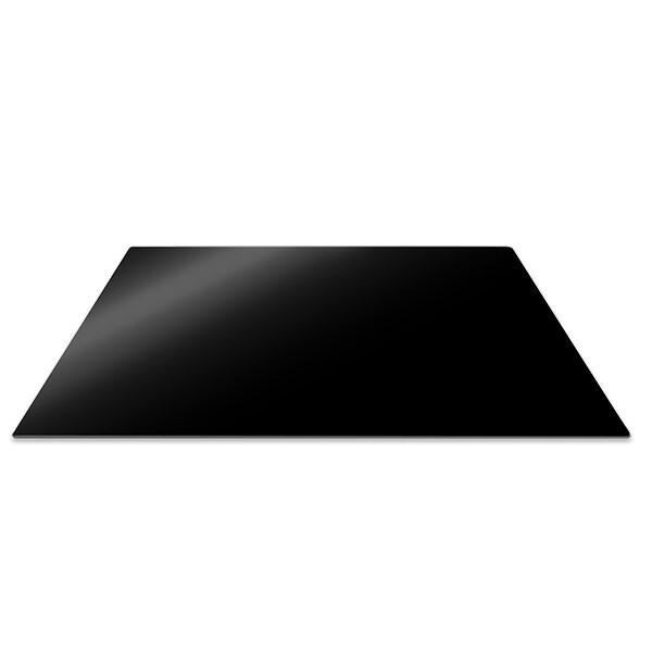 planche de protection pour plaque de cuisson noire 57 x 50 cm