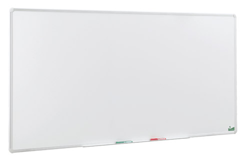 tableau blanc emaille 200 x 100 cm magnetique