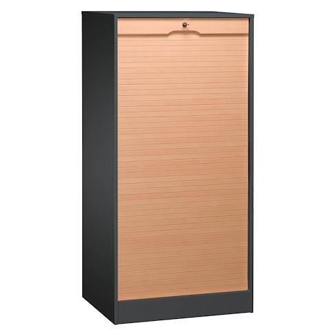 classeur double a rideau bois h 140 cm