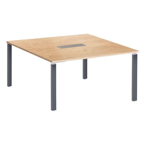 table carree chene exprim