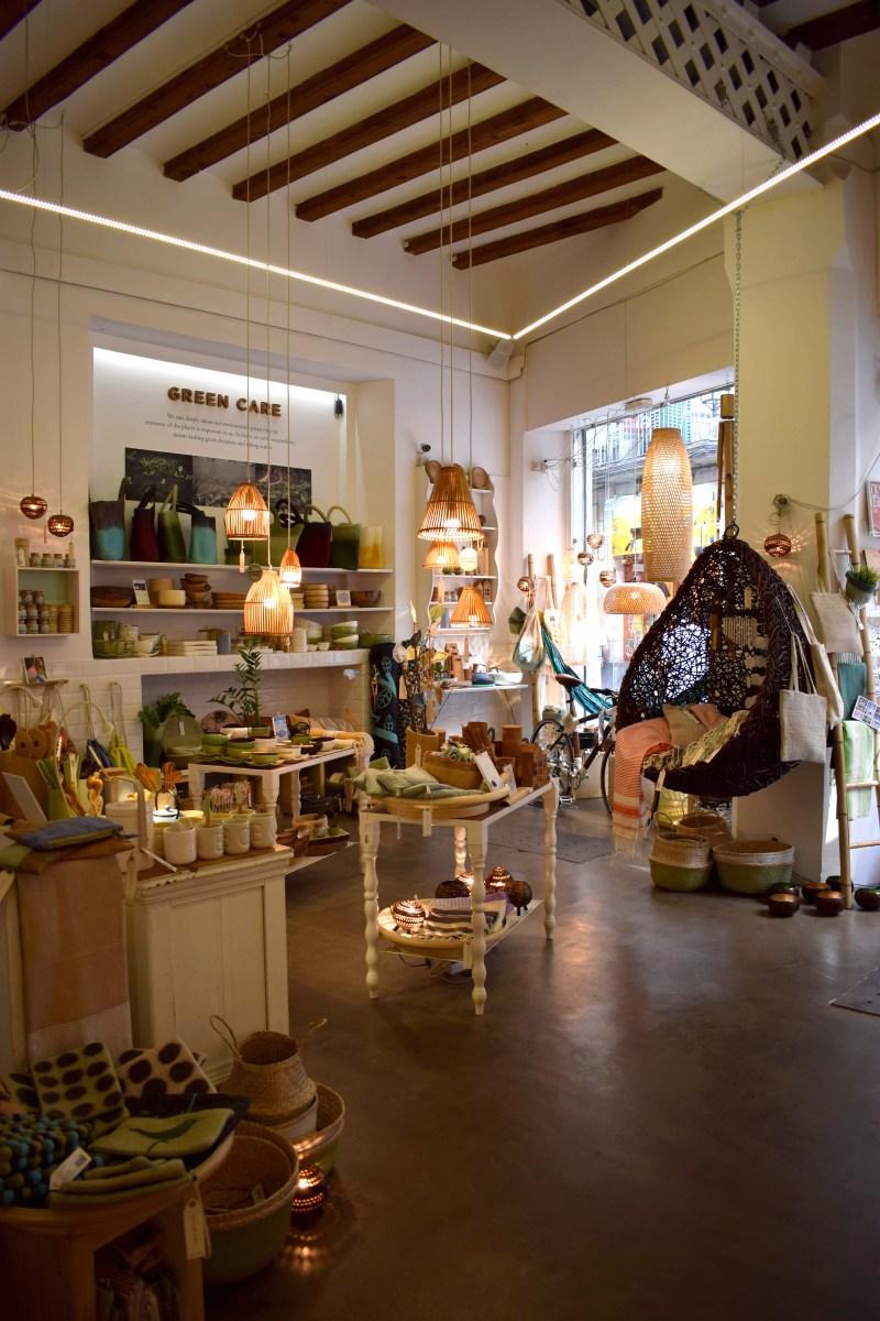 Barcelonas mysigaste inredningsbutiker - och bokhandel!