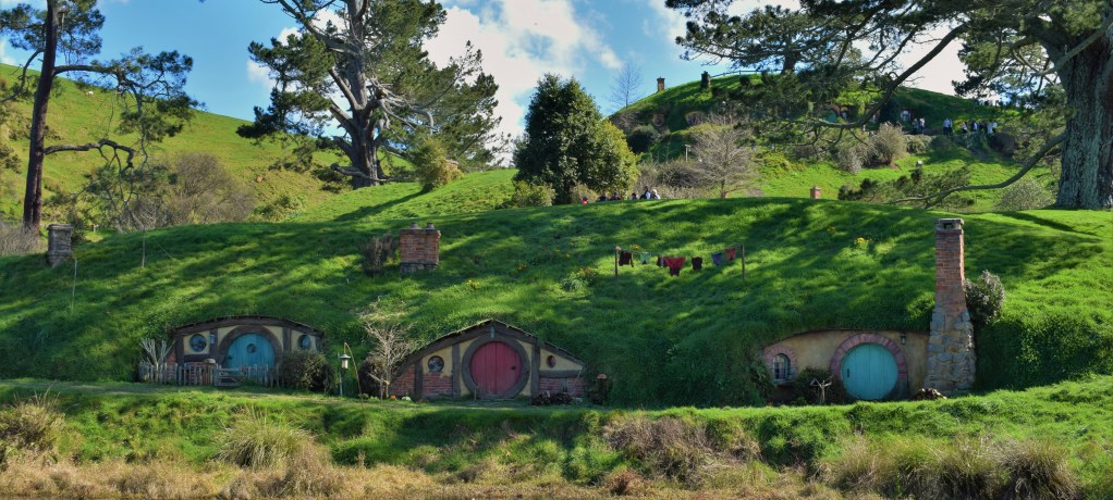 En dag på Hobbiton Movie Set