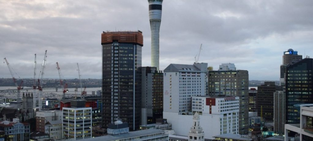 Vår lägenhet i Auckland!