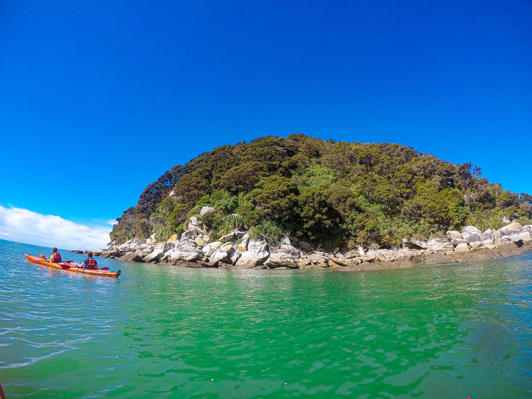 adele island i abel tasman nationalpark