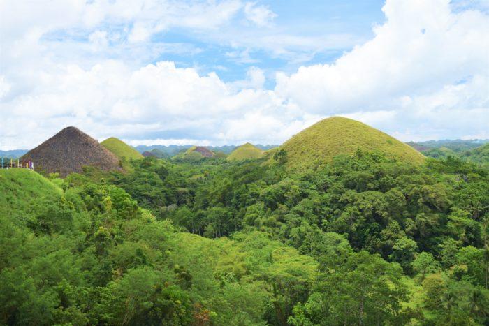 utsikt över chocolate hills