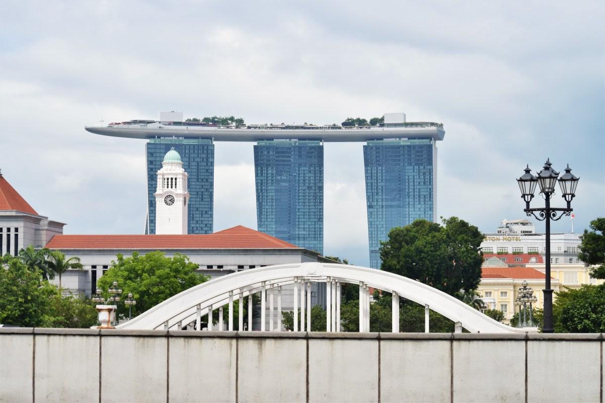 En promenad i Singapores centrum