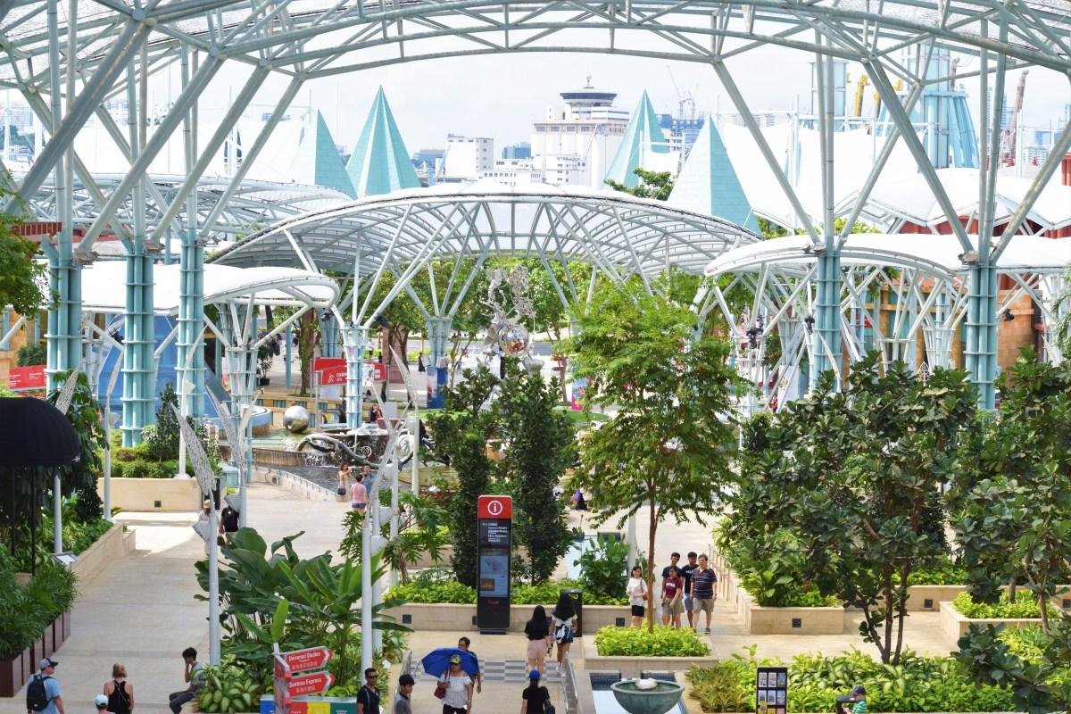 Sentosa Island - Singapores storslagna nöjesö!