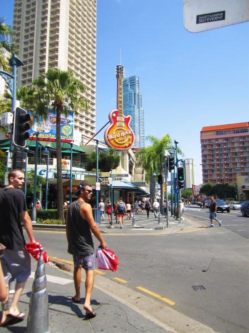 hard rock cafe i surfers paradise