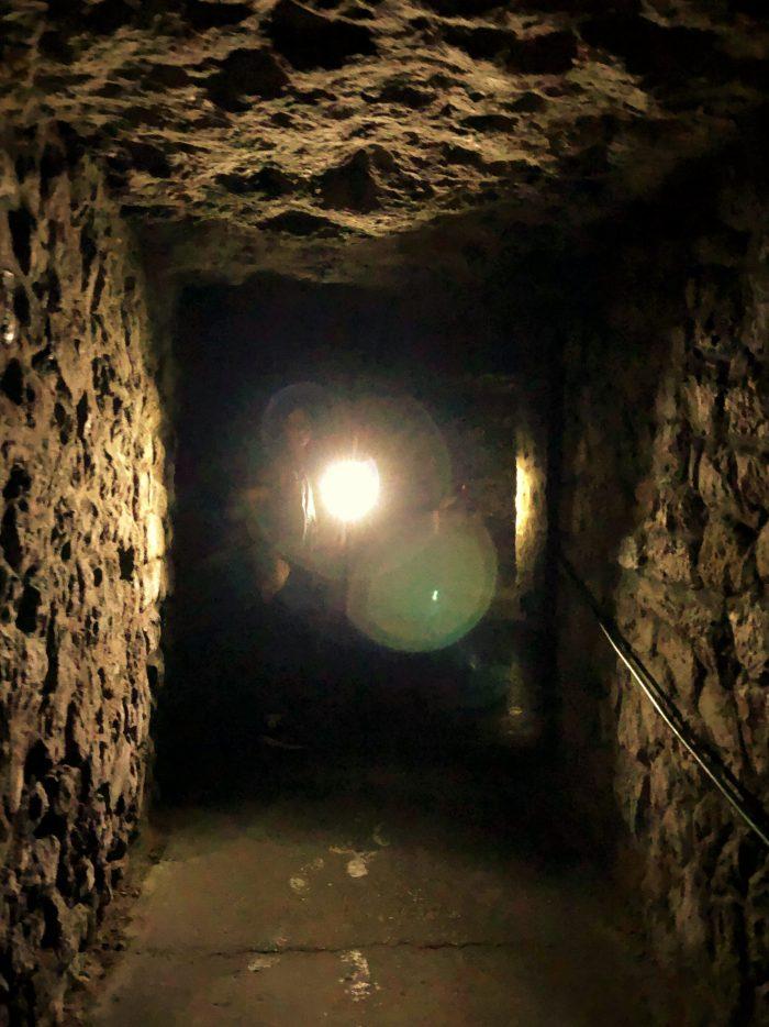 underjordiska labyrinten i budapest