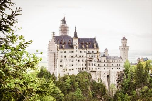 slottet Neuschwanstein i tyska bayern
