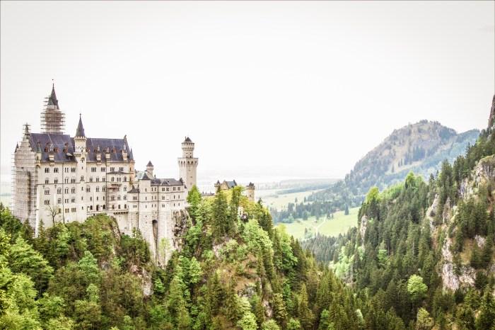 slottet Neuschwanstein i tyska füssen