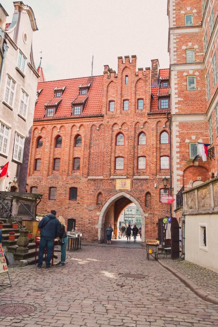 St. Mary's Gate i gdansk