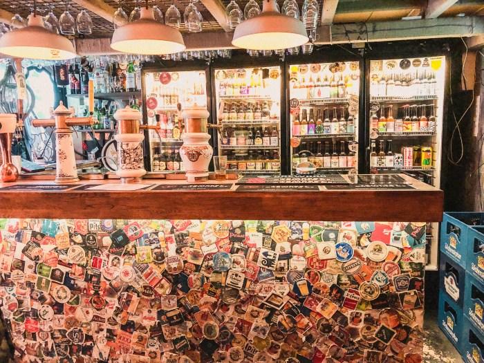 baren i hops beer bar i budapeset