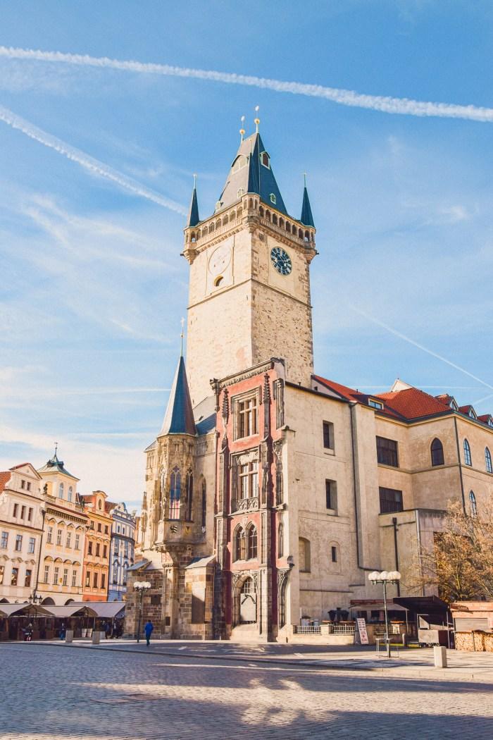 rådhuset på old town square.