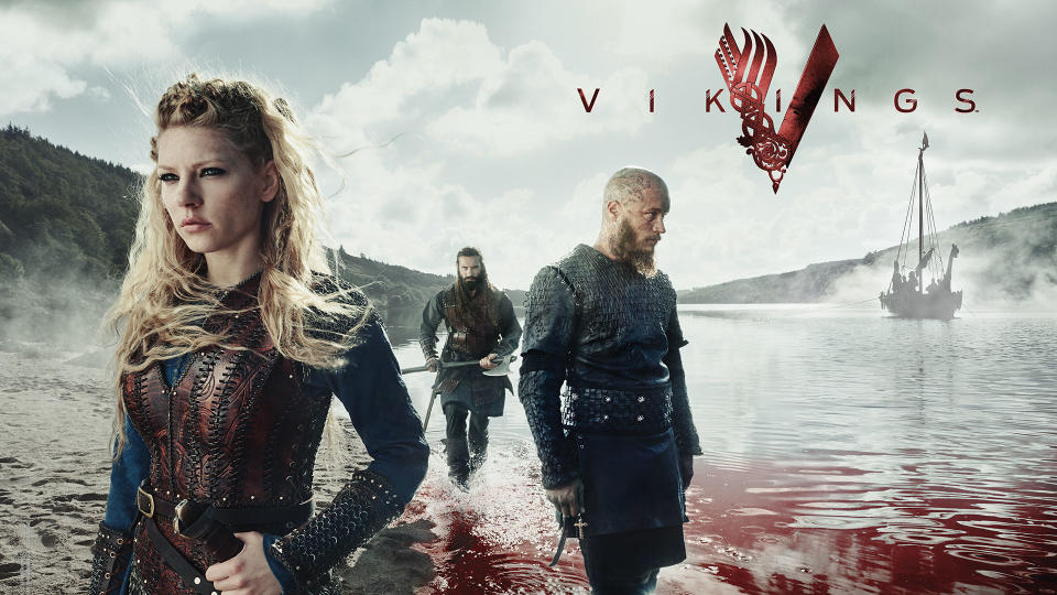vikings tv-serie på viaplay.