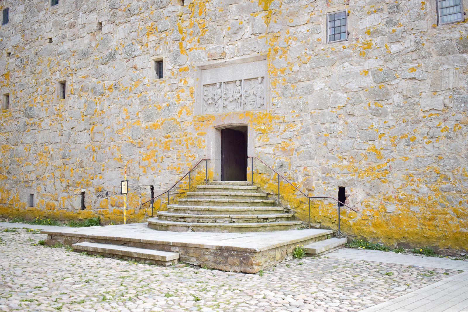 Ingången till Glimmingehus.