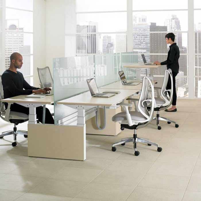 1 mobilier de bureau mbh tables ajustables teknion hab height adjustable