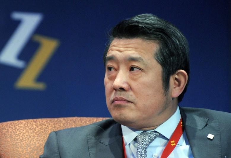 Chen Dongsheng, Chairman and CEO of Taikang Life Insurance Company, is seen during the 8th China Entrepreneur Summit in Beijing, China, Dec. 5, 2009. // Wang zhou bj / Imaginechina